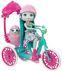 tricycle cartoon enchantimals taylee turtle doll with turtle and tricycle playset