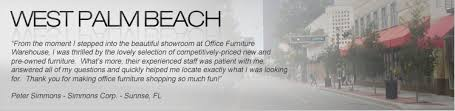 Office Furniture Warehouse Pompano by New And Used Office Furniture In West Palm Beach Lake Worth And