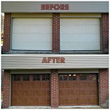 Olympia Overhead Doors by New Sectional Garage Door Before U0026 After Pinterest Sectional