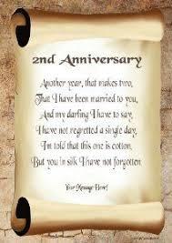 2nd year wedding anniversary 2nd wedding anniversary cotton basket theme diy