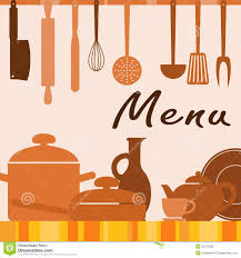 Kitchen Background Kitchen Background For Menu Cover Stock Photos Image 32763593