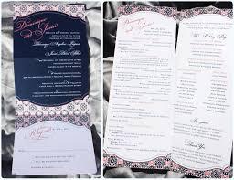 wordings tri fold shutter template trifold wedding invitation