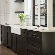 two tone kitchen cabinets with black countertops 9 inspiring two tone kitchen cabinet ideas woodworker access