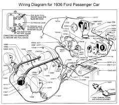 wiring diagram for 1936 ford wiring pinterest ford