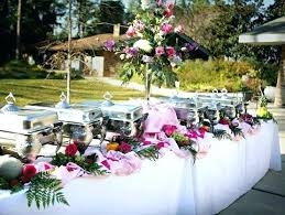 buffet table decor buffet table presentation ideas some occasion uses the buffet table
