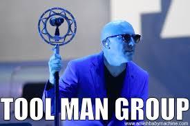 Meme Tool - blue man group tool mashup meme amish baby machine podcast