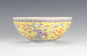 bowl designs fine egg shell porcelain chinese yellow bowl with dragon designs