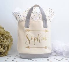 bridal party gift bags personalized bridesmaid tote bag bridal party tote wedding party