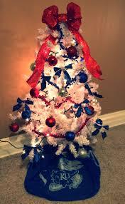 kansas jayhawk christmas tree kansas jayhawks pinterest kansas