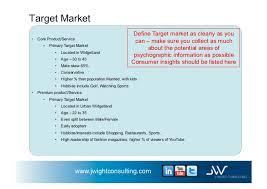 business plan example for widget company v 1 1 november 1st 2011 j u2026