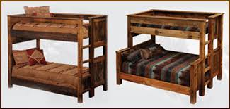 Barnwood Bunk Beds Town Country Rustic Furniture And Bed Siding