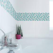 Bad Blau Ausgezeichnet Fliesenfolie Mosaik Hochwertige Fliesenaufkleber Set