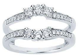engagement ring enhancers ring enhancer 14k white gold 0 50 cts cl 34122 cl 34122