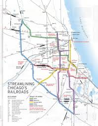 Maps Of Chicago by Chicago Railroad Map 42 Detailed With Chicago Railroad Map Maps