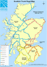 A Map Of England by Traffic Scotland U003e About Us