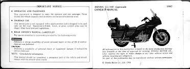 handleiding honda goldwing gl 1100 aspencade 1982 pagina 1 van 54