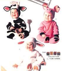 Childrens Halloween Costume Patterns Pig Lamb Toddler Halloween Costume Adorable Baby