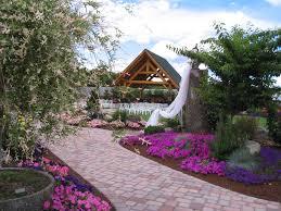 log house log house garden outdoor wedding venue pictures