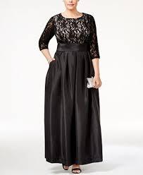 r m richards plus size dresses r m richards plus size lace satin gown of the