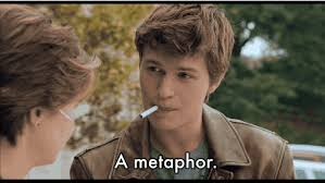 The Fault In Our Stars Meme - the fault in our stars it s a metaphor cigarette scene internet meme