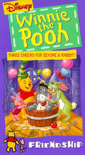 rabbit dvd winnie the pooh three cheers for eeyore and rabbit dvd