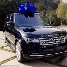 bows for cars presents blac chyna presents rob with a brand new range rover