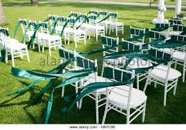white wedding chairs wedding chairs stock photos wedding chairs stock images alamy