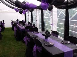 and black wedding purple and black wedding decorations for outdoor pictures black