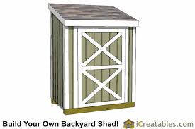 Diy Lean To Storage Shed Plans by 3x6 Lean To Shed Plans 3x6 Storage Shed Plans