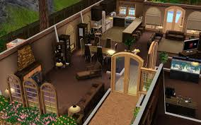 neat design sims 3 4 bedroom house 1 floor plans garden home