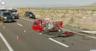 serious car wreck google street view world funny street view