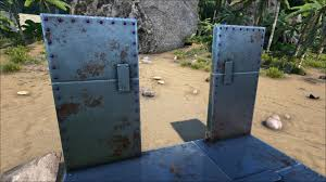 diy door frame metal doorframe official ark survival evolved wiki