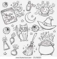 coloring endearing halloween drawlings drawings ideas