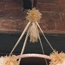 diy pom pom tassel mobile chandelier u2014 everything you didn u0027t want