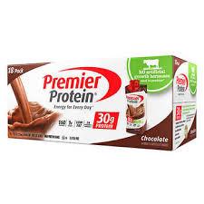 100 calorie muscle milk light vanilla crème premier protein hormone free shakes 11 fl oz 18 pack
