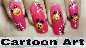 simple and easy cute nail art designs for baby at home youtube