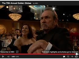 Tommy Lee Jones Meme - tommy lee jones not amused meme photo video watch golden globes