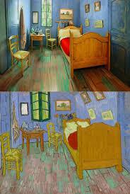 tableau de gogh la chambre le tableau de gogh reconstitué dans une chambre