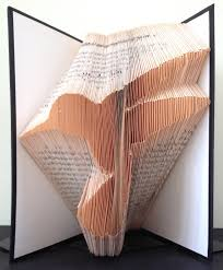 hummingbird book folding pattern diy gift for folded book art