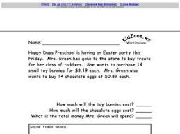 multi step word problems 5th grade printable step word problem easter multiplication and addition