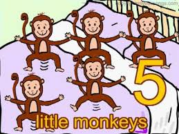 Bed Song Five Little Monkeys Jumping On The Bed Youtube For Kids