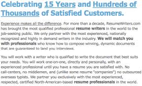 Resume Companies Resumewriters Com Resume Writing Service Review