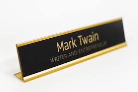custom office desk signs personalized desk plaques engraved office signs custom office signs