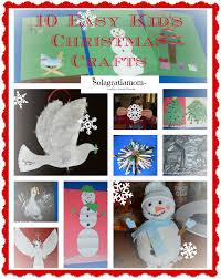 solagratiamom 10 easy kids christmas crafts plus huge giveaway