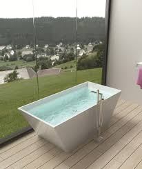 new york small freestanding bathtub bathroom modern with double
