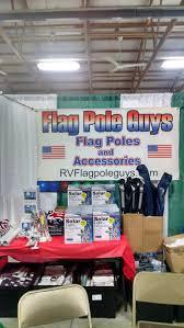 Rv Flag Poles Rv Flagpole Guy Fiberglass Telescoping Flagpoles Mounts Lights