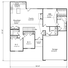 Cottage Floor Plans One Story Traditional Single Story 22012sl Architectural Designs House