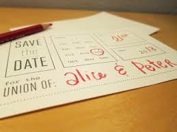 printable save the date brooklyn bride modern wedding blog