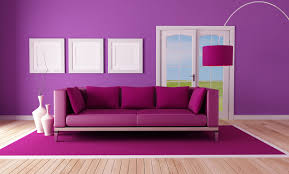 room wall purple color for mesmerizing room wall designs with purple cushions