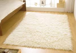Trendy Rugs Cream Wool Rug Roselawnlutheran